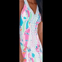 """Out to sea"" lilly pulitzer dress"