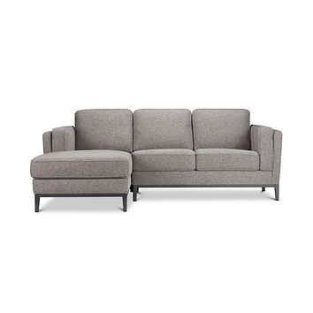 Westley 2pc Sectional Sofa :: Configuration: LAF - Chaise on the Left