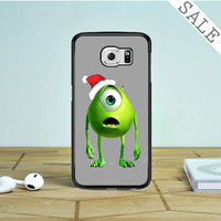 Monster Universe Funny Christmas Samsung Galaxy S6 Edge Case