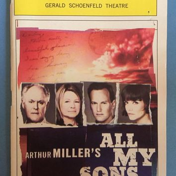 All My Sons Playbill
