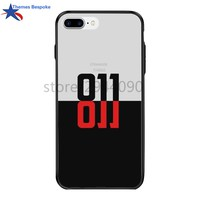 Stranger Things For Iphone Cases X/6s Plus Anti-Knock Hard PC&TPU For Iphone 8/7plus Stranger Things Eleven 011 For Iphone 7