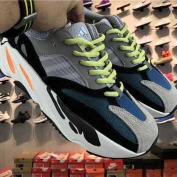 PEAP6 Adidas Yeezy Wave Runner 700 Solid Grey/chalk White/core Black For Sale