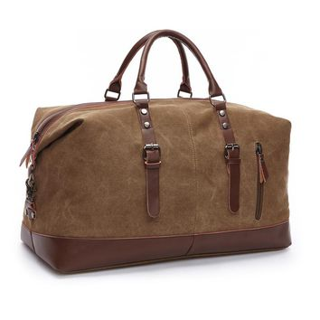 New Men's Vintage military Canvas men travel bags Luggage bags Men Duffel bag travel large Bag Male Business Trip totes