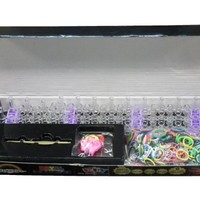 Royal Loom Band Kit, 600 bands + 25 Clips bracelets loom kit (Includes 6 Charms)
