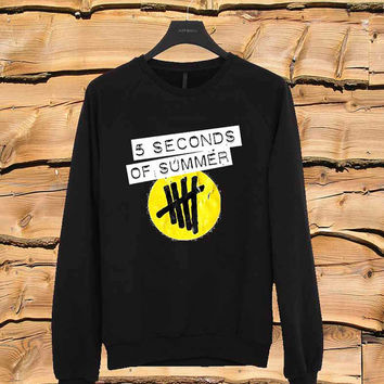 5SOS logo art sweater Sweatshirt Crewneck Men or Women Unisex Size