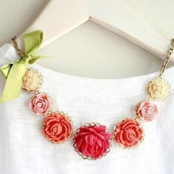 Madeleine Necklace by tamar on Etsy