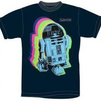 ROCKWORLDEAST - Star Wars, T-Shirt, R2D2