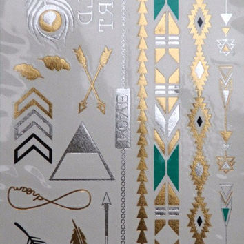 Trendy DIY Temporary Flash Tattoos