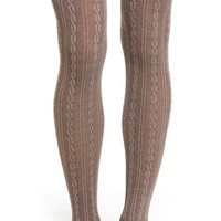 Nordstrom Cable Sweater Tights | Nordstrom