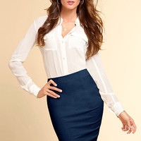 Basic Pencil Skirt - Victoria's Secret