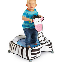 Zebra Boing Boing Trampoline | Daily deals for moms, babies and kids