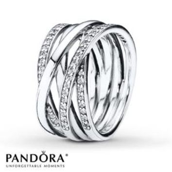 PANDORA Ring Entwined Sterling Silver