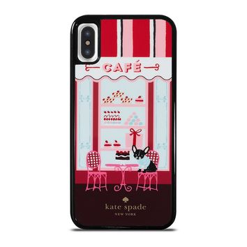 KATE SPADE NEW YORK CAFE iPhone X / XS case