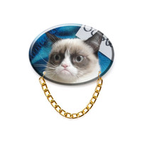 Grumpy Cat Brooch