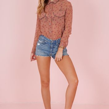 THE KOOPLES | Candy Flowers Pink Shirt