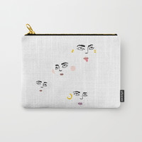 friends Carry-All Pouch by steph_angeles