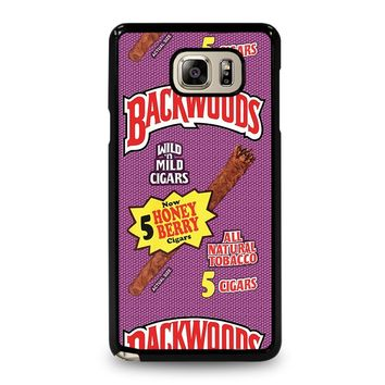 ONLY BACKWOODS CIGARS Samsung Galaxy Note 5 Case