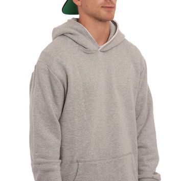 RAW EDGE PULLOVER HOODIE