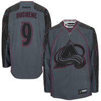Matt Duchene Colorado Avalanche Reebok Cross Check Premier Fashion Jersey - Charcoal