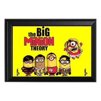 The Big Minion Theory Decorative Wall Plaque Key Holder Hanger