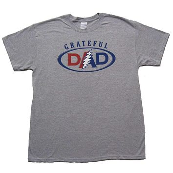 Grateful Dead Grateful Dad Mens Tee Shirt