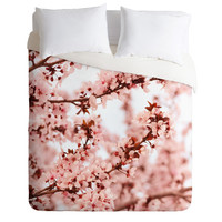 Lisa Argyropoulos Blissfully Pink Duvet Cover