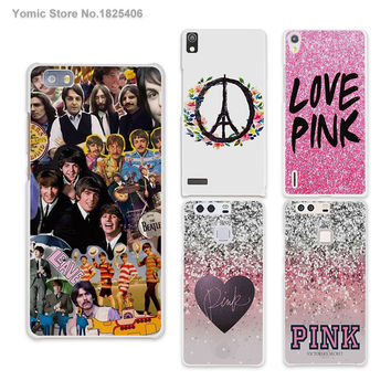 Popular the Beatles Puzzles hard White Skin phones Cases for HUAWEI Ascend P6 P7 P8 lite P9 honor 6 7 8 mate s 7 8