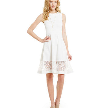 French Connection Beau Fit-and-Flare Dress | Dillards