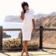 Refined Beauty Dress - Ivory