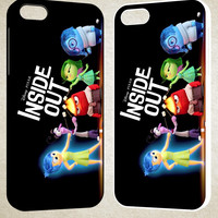 Inside Out F0840 iPhone 4S 5S 5C 6 6Plus, iPod 4 5, LG G2 G3, Sony Z2 Case