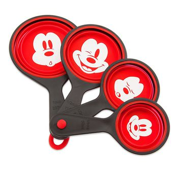 Disney Eats Mickey Mouse Measuring Cup Set of 4 New