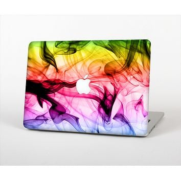 The Neon Glowing Fumes Skin Set for the Apple MacBook Air 13""