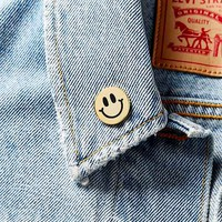Big Bud Press Smiley Pin