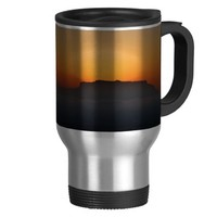 Cape Town Table Mountain 15 Oz Stainless Steel Travel Mug