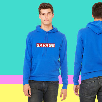 savage sweatshirt hoodiee