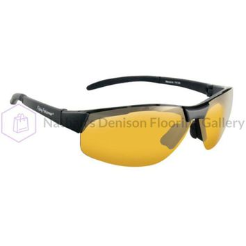 Fly Fish Maverick Sunglasses Mt Black/Yellow Amber