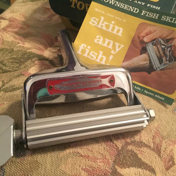 Townsend Fish Skinner, Fishing gear, Fish Scaler, Fishing Tool, Tackle Box Supplies, Fishing Collectible, Cabin Decor, Field & Stream