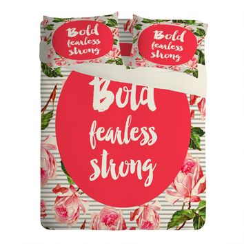 Allyson Johnson Bold and fearless Sheet Set Lightweight