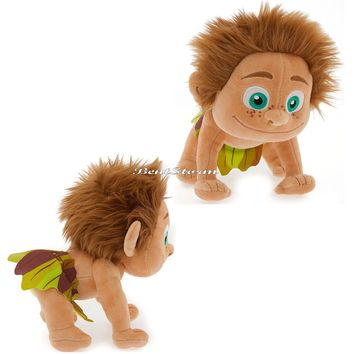 "Licensed cool 9"" SPOT BOY Plush Toy Doll Best Friend ARLO The Good Dinosaur Disney Store 2015"