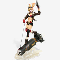 DC Collectibles DC Bombshells Harley Quinn Deluxe Statue