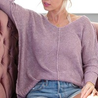 Cora Top in Lavender