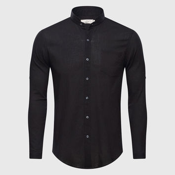 Men's See Through Dress Shirt