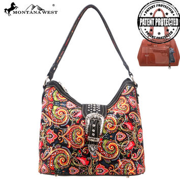Montana West MW116G-8284 Concealed Carry Handbag