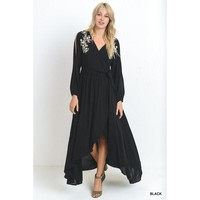 """Georgie"" Maxi Dress - Black"