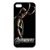 Lucky Grass - Avengers Thor Loki Pattern Iphone 4 & 4s Case Cover , Hard Shell Protector Back Cover Case for Iphone Apple 4 4s