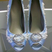 Over 100 Colors Bridal Shoes Wedding Custom by Parisxox on Etsy