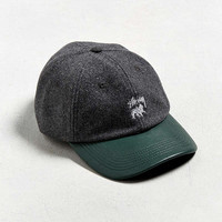 Stussy Leather Visor Lo Pro Baseball Hat | Urban Outfitters