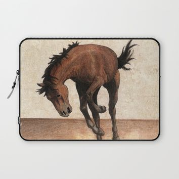 Cheval / Horse Laptop Sleeve by Savousepate