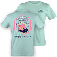 Simply Southern My Heart Belongs To A Country Boy Prep Girlie Bright T Shirt