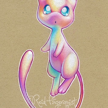 Colorful Mew PRINT